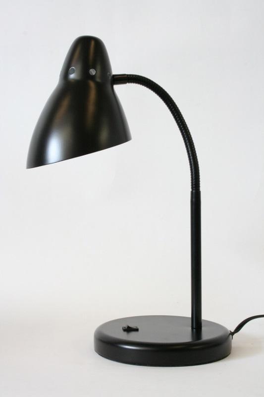 metal lighting. Lighting, Lamp, DESK,GOOSENECK W/CIRCULAR BASE, METAL, BLACK Metal Lighting