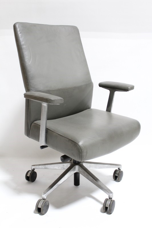 Chair Office High Back Executive Conference Padded Arms 5
