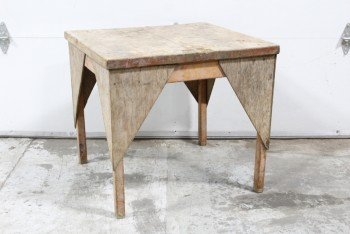 Table, Rustic, RUSTIC/WORK,CAPPED CORNERS, AGED , WOOD, NATURAL