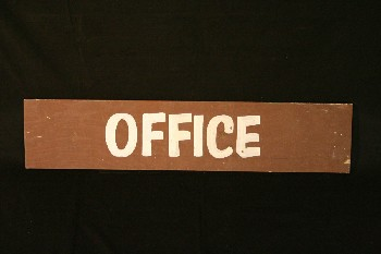 Sign, Office,