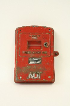 Fire, Pull Station, FRONT PANEL ONLY OF BOX,