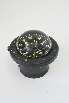 Science/Nature, Compass, MARINE/BOATING,W/GLASS DOME, GLASS, BLACK