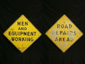 Sign, Construction,