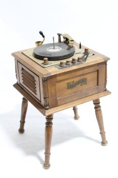 Audio, Misc, ANTIQUE GRAMOPHONE STAND,PHONOGRAPH/VICTROLA TABLE,