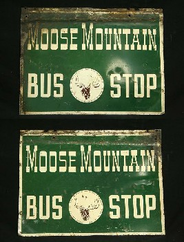 Sign, Bus/Train, STOPS,