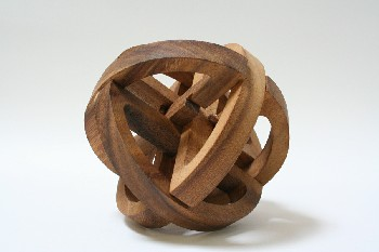 Decorative, Shapes, PUZZLE,INTERLOCKING WOODEN PIECES , WOOD, BROWN