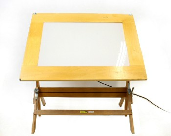 Table, Drawing, WORKING DRAFTING/ARTIST'S DRAWING BOARD,ADJUSTABLE, 48x36