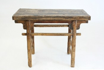 Table, Misc, RUSTIC ASIAN ALTAR TABLE, WOOD, NATURAL