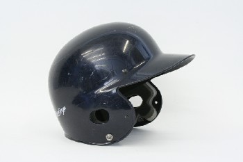 Headwear, Helmet, BASEBALL,BATTING HELMET , PLASTIC, BLUE