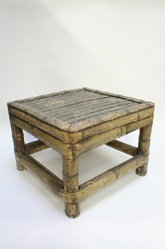Stool, Square, SEAT MADE OF 1
