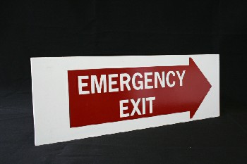 Sign, Exit,