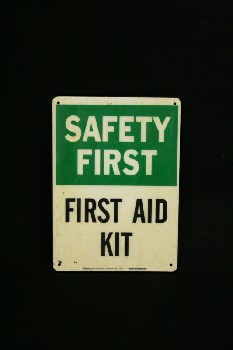Sign, First Aid,