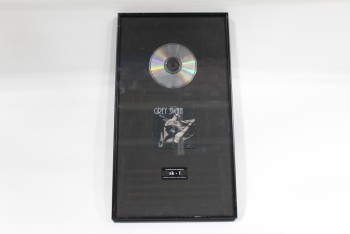 Wall Dec, Award, CLEARABLE,PLATINUM ALBUM, CD/COMPACT DISC, ALBUM COVER OF