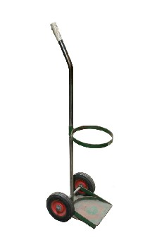Medical, Mobility, SHOP,HOLDS OXYGEN TANK,RED WHEELS/ROLLING , METAL, GREEN