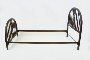 Bed, Metal, SINGLE SIZE,WINDSOR STYLE, HEADBOARD & 31
