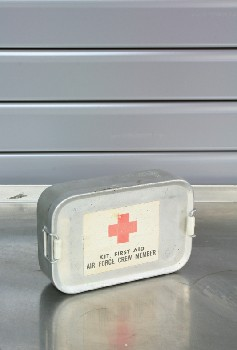 Medical, First Aid Kit, VINTAGE,RED CROSS,