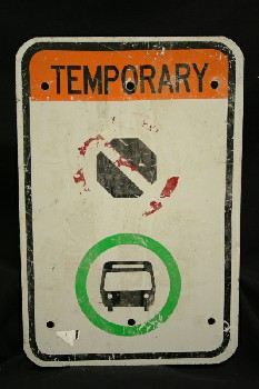 Sign, Bus/Train,