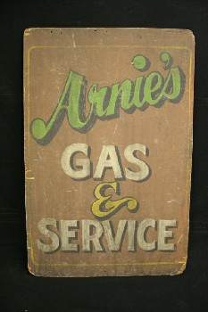 Sign, Gas Station, SHOP/GARAGE,
