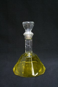 Bar, Decanter, TAPERED,TAPED DOWN STOPPER, GLASS, CLEAR
