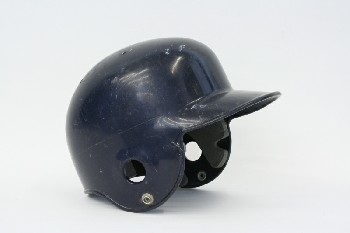 Headwear, Helmet, BASEBALL,BATTING HELMET, PLASTIC, BLUE