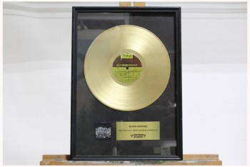 Wall Dec, Award, CLEARABLE,RECORDING INDUSTRY GOLD RECORD ALBUM,