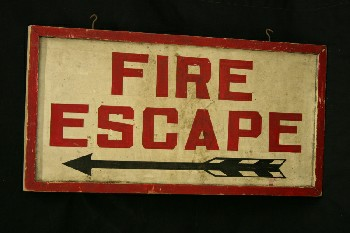 Sign, Fire,
