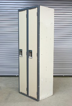 Locker, Misc, DOUBLE DOORS,GREY FRAME,