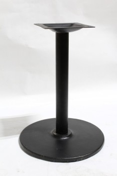 Table, Base, SQUARE MOUNT FOR TABLE,CYLINDRICAL POST, ROUND 22