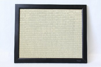 Board, Pin, BULLETIN BOARD,THICK BLK FRAME,WOVEN SURFACE, WOOD, BLACK