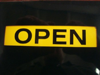 Sign, Open/Closed,
