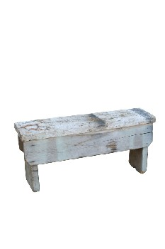Bench, Rustic, PLAIN,FRONT BOARD,THICK LEGS,RUSTIC, WOOD, NATURAL